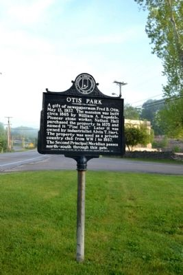 Otis Park Marker image. Click for full size.
