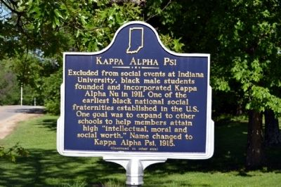 Kappa Alpha Psi Marker image. Click for full size.