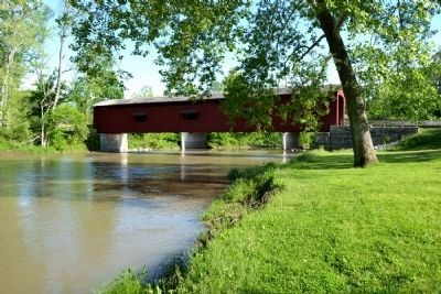 Cataract Covered Bridge image. Click for full size.