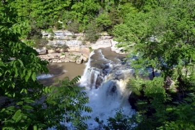 Second Drop of Upper Cataract Falls image. Click for full size.