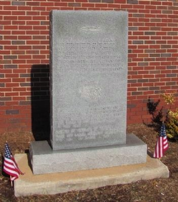 Textile Workers Monument Marker Relocation image. Click for full size.