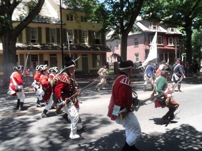 Skirmish at the Indian King Tavern image. Click for full size.