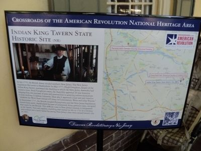 Indian King Tavern State Historic Site (NR) Marker image. Click for full size.
