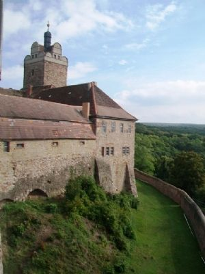 Castle and Chateau Allstedt Outer Wall image. Click for full size.
