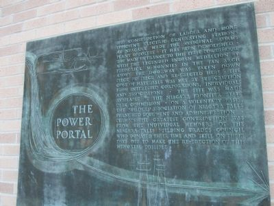 Power Portal Plaque image. Click for full size.