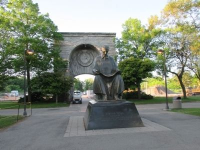 Front of Power Portal and Tesla Statue image. Click for full size.