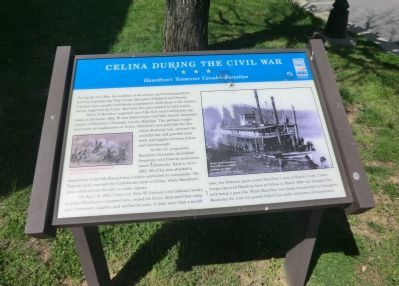 Celina During the Civil War Marker image. Click for full size.