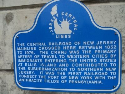 Jersey Central Lines Marker image. Click for full size.