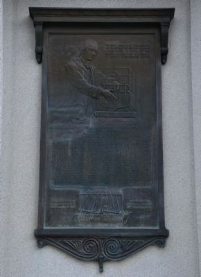 John Fitch Memorial image. Click for full size.