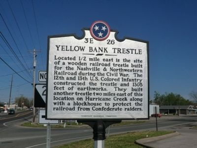 Yellow Bank Trestle Marker image. Click for full size.