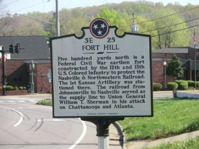 Fort Hill Marker image. Click for full size.