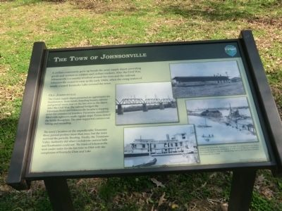 The Town of Johnsonville Marker image. Click for full size.