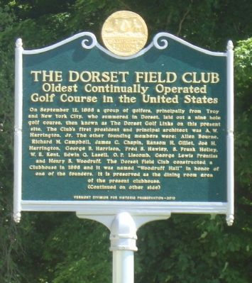 The Dorset Field Club Marker image. Click for full size.