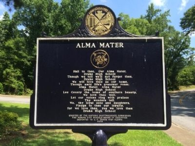 Alma Mater Marker image. Click for full size.