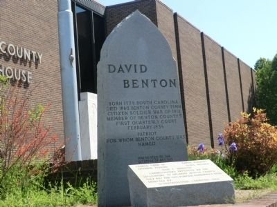 David Benton Marker image. Click for full size.