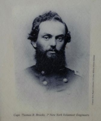 Captain Thomas B. Brooks, 1st New York Volunteer Engineers image. Click for full size.