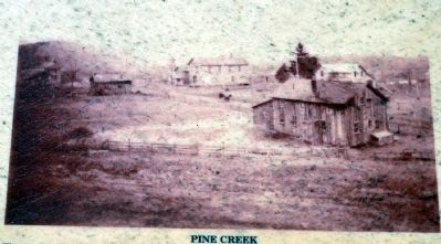 The Settlement of Pine Creek image. Click for full size.