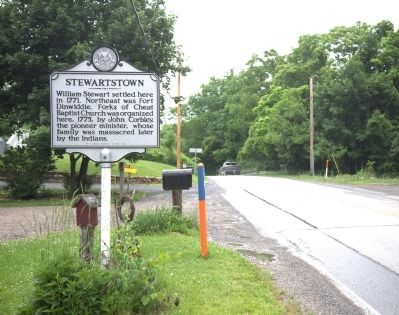 Stewartstown Marker image. Click for full size.