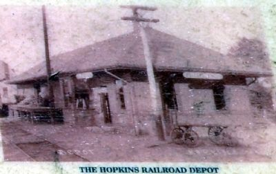 Hopkins Railroad Depot image. Click for full size.