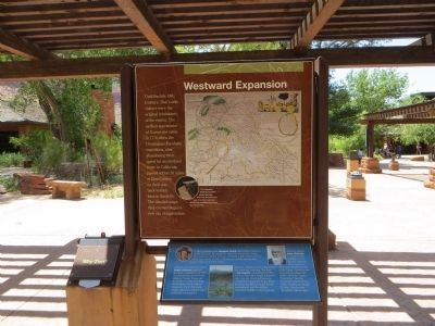 Westward Expansion Marker image. Click for full size.