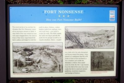 Fort Nonsense CWT Marker image. Click for full size.