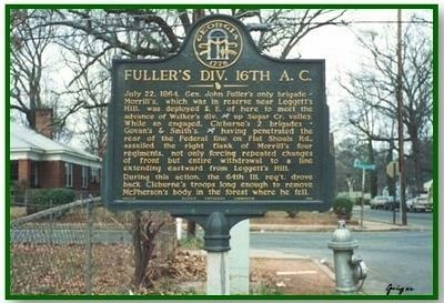 Fuller's 16th A.C. Marker image. Click for full size.