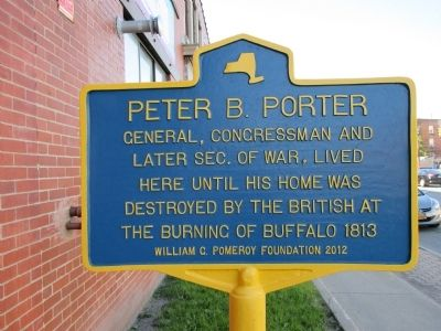 Peter B. Porter Marker image. Click for full size.