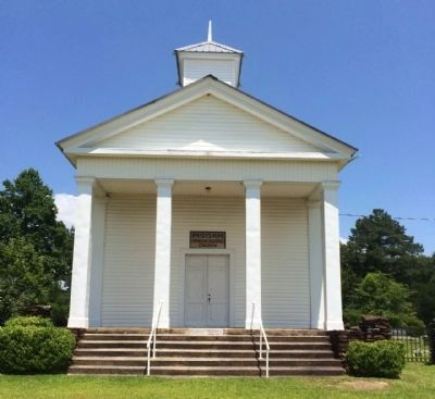 Pisgah Primitive Baptist Church image. Click for full size.