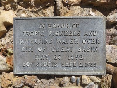 Tropic Pioneers Marker image. Click for full size.