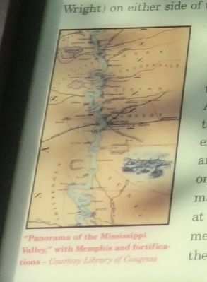 Close up of map shown on the marker image. Click for full size.