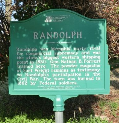 Randolph Marker image. Click for full size.
