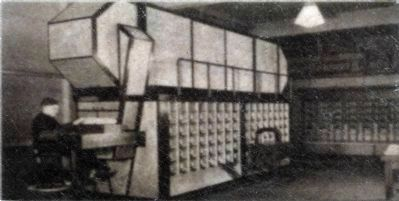 Transorma Letter Sorting Machine image. Click for full size.