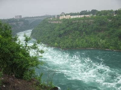 Whirlpool Rapids and Whirlpool Rapids Bridge image. Click for full size.