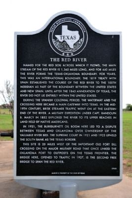 The Red River Marker image. Click for full size.