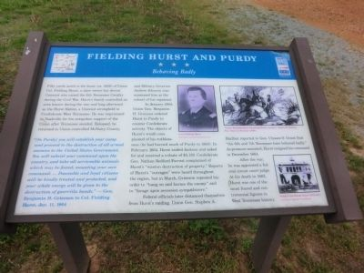 Fielding Hurst and Purdy Marker image. Click for full size.