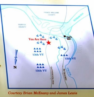 Close-Up of Map on the Marker image. Click for full size.