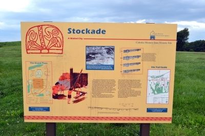 Stockade Marker image. Click for full size.