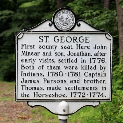St. George Marker image. Click for full size.