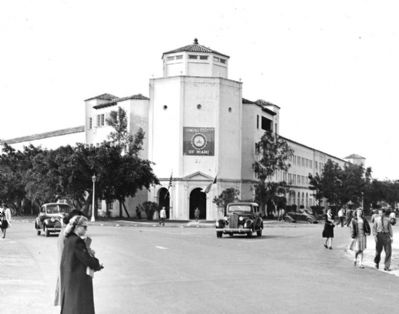 Anastasia Building - first University of Miami building image. Click for full size.