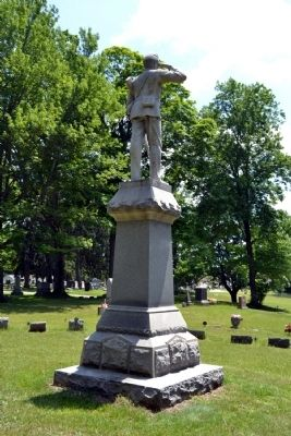 Centreville Civil War Monument image. Click for full size.