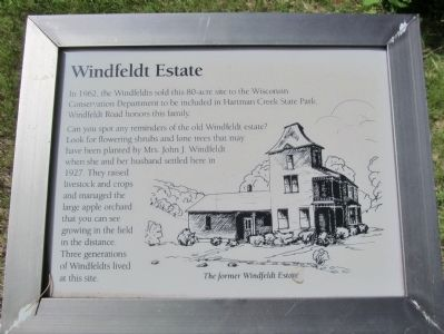 Windfeldt Estate Marker image. Click for full size.