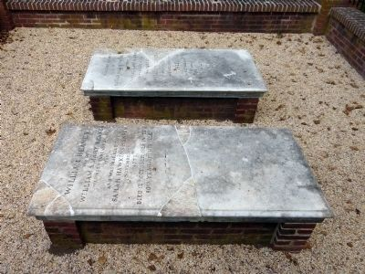 The Graves of Dr. Beanes and his wife Sarah image. Click for full size.