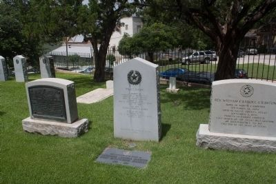 Willis Avery Marker with neighboring stones. image. Click for full size.