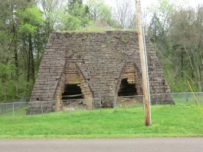 Cedar Grove Iron Furnace image. Click for full size.