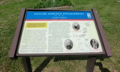 Fouche Springs Engagement Marker image. Click for full size.