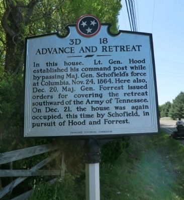 Advance and Retreat Marker image. Click for full size.