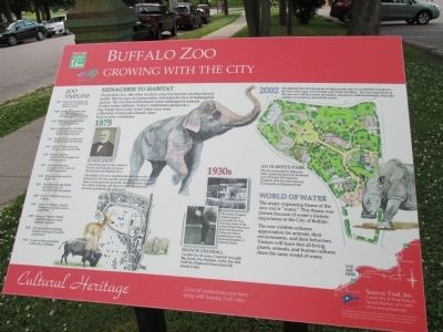 Buffalo Zoo Marker image. Click for full size.
