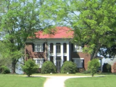 Oaklawn Plantaton-The Absalom Thompson House image. Click for full size.