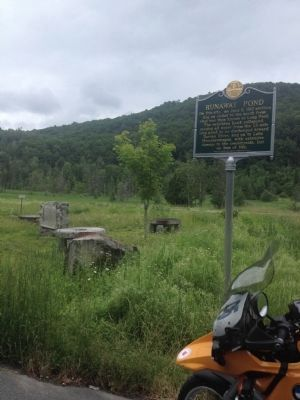 Wideview of Runaway Pond Marker image. Click for full size.