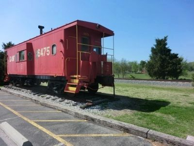 Thompson's Station Depot-Red Caboose image. Click for full size.